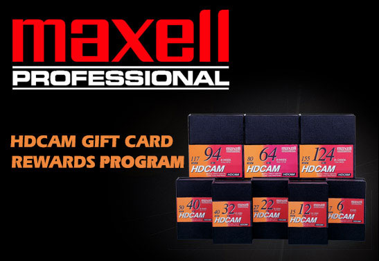 Maxell Rewards